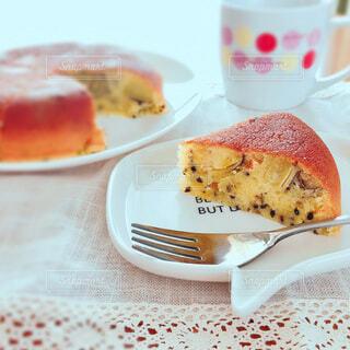 さつまいもケーキの写真・画像素材[3709725]