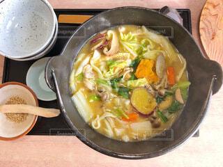 甲州名物ほうとう鍋の写真・画像素材[3878251]
