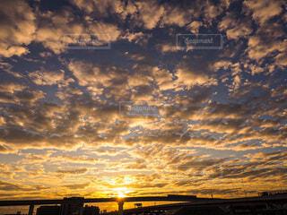 風景,空,屋外,朝日,雲,正月,お正月,日の出,新年,初日の出