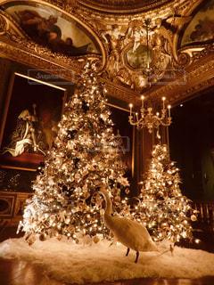 茶色,クリスマス,フランス,ツリー,ベージュ,ミルクティー色,ヴォールヴィコント城