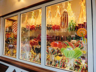チボリ公園内の可愛らしいキャンディーたちの写真・画像素材[2003902]
