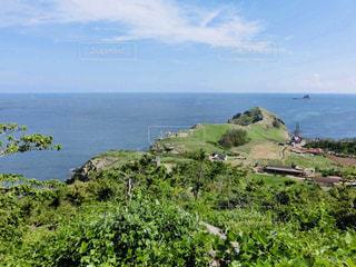 済州島 移動中の景色の写真・画像素材[2034192]
