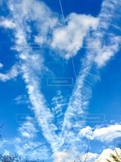 空には雲のグループの写真・画像素材[1113899]