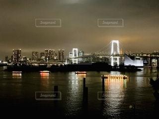 水域に架かる橋の写真・画像素材[2763652]