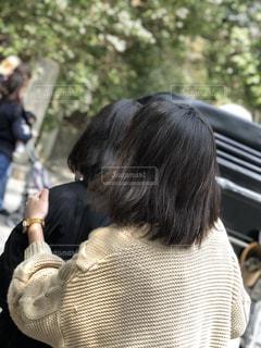 京都,竹林,後ろすがた