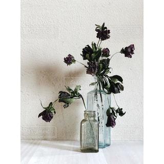 花瓶に花束の写真・画像素材[2849693]