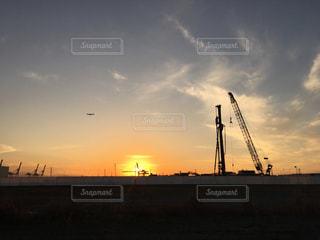 夕方の景色の写真・画像素材[1281610]