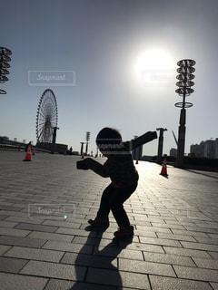 走るポーズの写真・画像素材[2115172]
