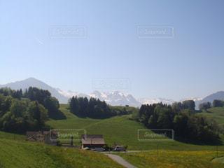ハイキングで見た景色の写真・画像素材[2212173]