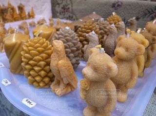 鳥,茶色,キャンドル,松ぼっくり,クマ,ロウソク,テディーベア,ミルクティー色
