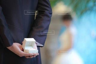 指輪のプレゼントの写真・画像素材[2961881]