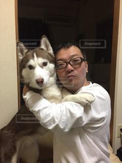 犬,シベリアンハスキー,美女と野獣,ハスキー,名コンビ