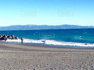 自然,海,空,海岸,釣り人,休日,のんびり