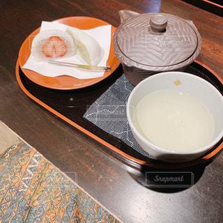 食べ物の皿とコーヒーの写真・画像素材[2979972]