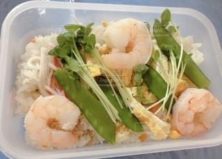 ちらし寿司弁当の写真・画像素材[3640720]