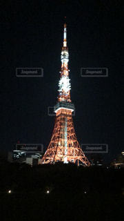 東京タワーに初めて登りましたの写真・画像素材[2724223]