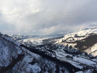 雪山の写真・画像素材[391555]