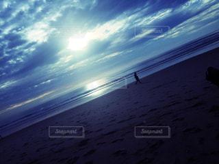 空と海と雲の写真・画像素材[1967315]