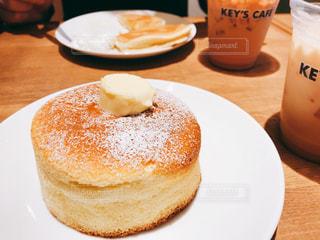 カフェ,パンケーキ,おやつ,cafe,昼下がり,休日,ドリンク,アフタヌーン,まったり,ミルクティー,afternoon,ミルクティー色,まったりタイム