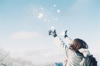 雪の写真・画像素材[1836888]