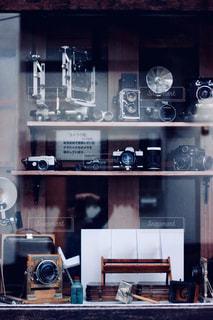 昔のカメラたちの写真・画像素材[2828268]