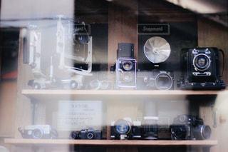 昔のカメラたちの写真・画像素材[2828275]