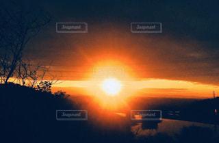 空,太陽,光,朝,日の出,新年,初日の出,1月1日