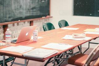 会議室のテーブルの写真・画像素材[2878159]
