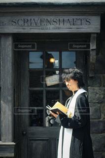 本を読む人の写真・画像素材[2893235]