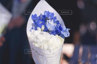 披露宴で頂いた可愛いお花の写真・画像素材[3084227]