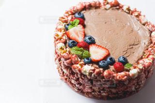 手作りケーキの写真・画像素材[3195877]