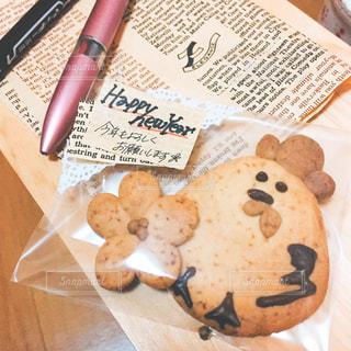 手作りクッキーの写真・画像素材[3195891]