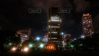 夜の都市の写真・画像素材[3339164]