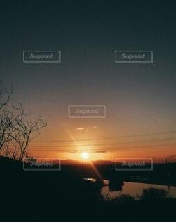 空,朝日,光,正月,朝,お正月,日の出,新年,初日の出,2021