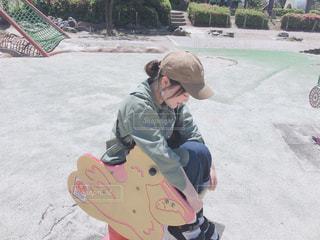公園での写真・画像素材[2121992]