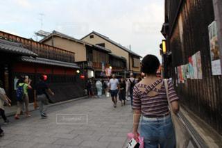 10代,夏,京都,晴れ,女子,女の子,洋服,Tシャツ,シャツ,女子旅,姉妹,夏服,半袖