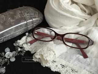 メガネとファッション小物の写真・画像素材[3707303]