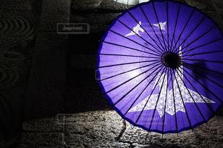 紫色の傘の写真・画像素材[2179921]