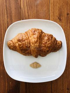 白,かわいい,茶色,パン,皿,クロワッサン,器,ベージュ,四角,砂糖,シュガー,インスタ映え