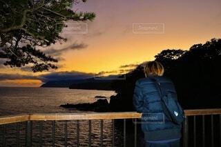 夕焼けの写真・画像素材[3962207]