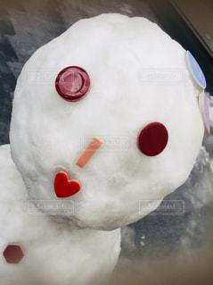 雪,屋外,赤,かわいい,ハート,唇,丸,タイル,だるま,多彩