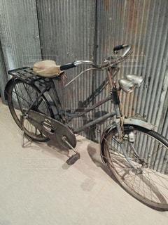 自転車,レトロ,フィルム,昭和,トタン,フィルム写真,フィルムフォト