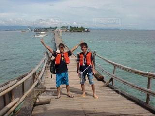 親友と海外旅行の写真・画像素材[2165257]
