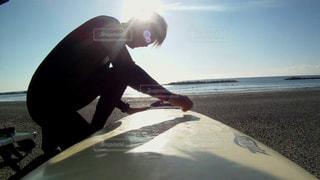 男性,空,太陽,サーフィン,ビーチ,光,人,ワックス,ウェットスーツ