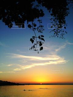 自然,風景,海,空,夕日,世界の絶景,旅行,夕陽,サンセット