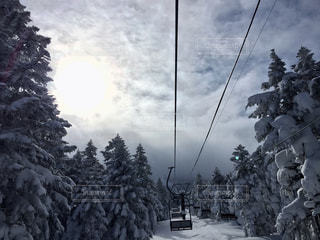 スキー場リフトの写真・画像素材[2816162]