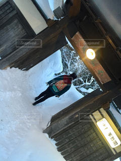雪国の宿の写真・画像素材[2816165]