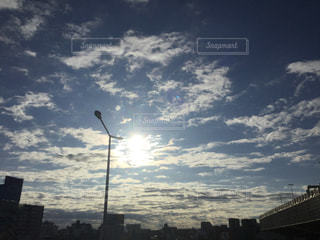 空,屋外,太陽,朝日,光