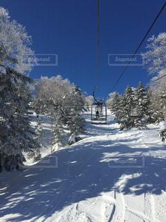 万座温泉スキー場の写真・画像素材[2944098]