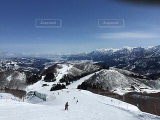 ガーラ湯沢スキー場の写真・画像素材[2988665]